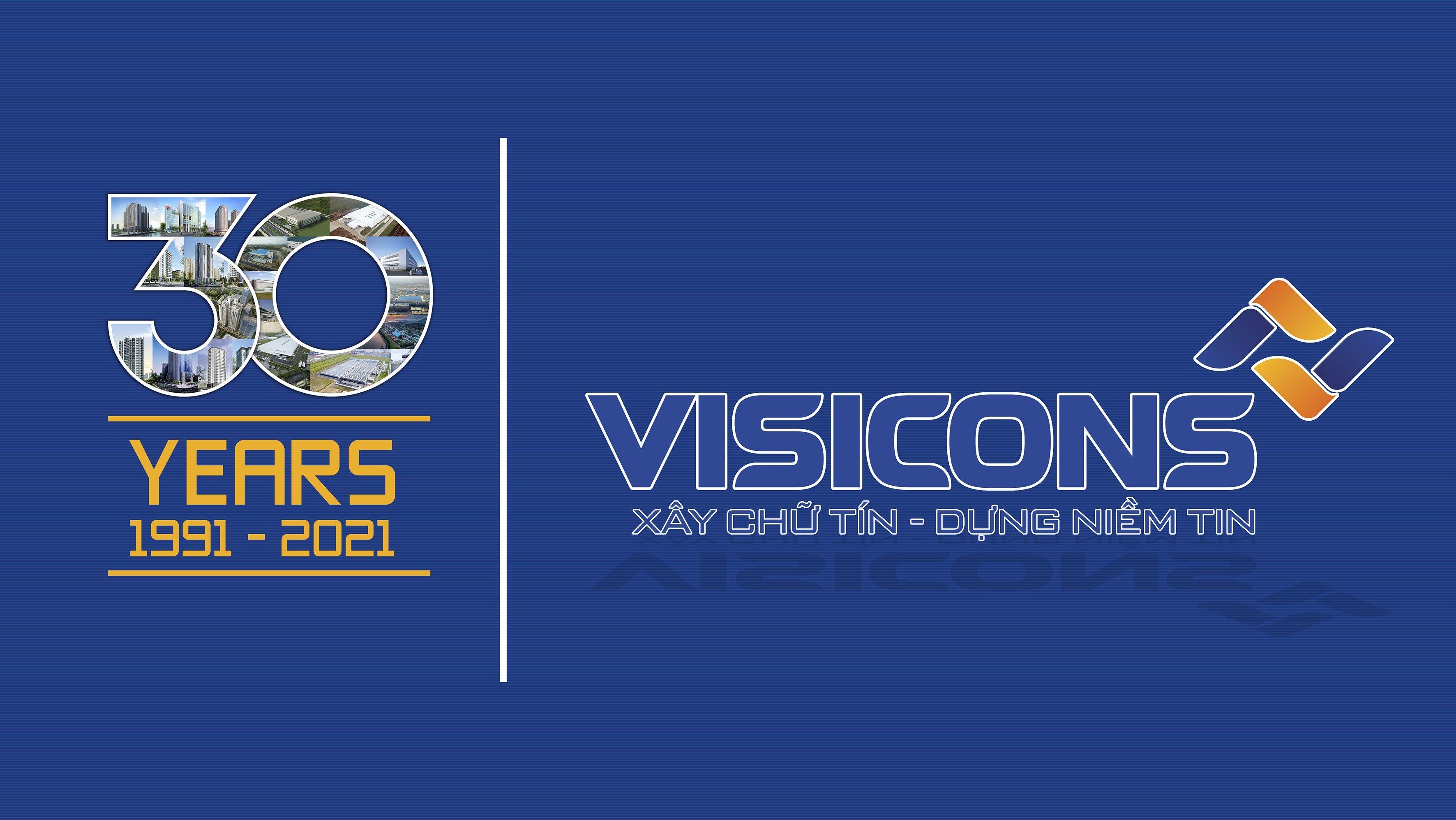 Video kỷ niệm 30 năm thành lập Công ty Cp Xây dựng và Đầu tư Visicons