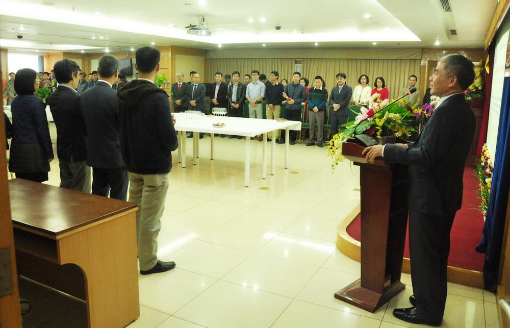 Vinaconex6 tổ chức gặp mặt và chúc tết đầu Xuân Mậu Tuất 2018