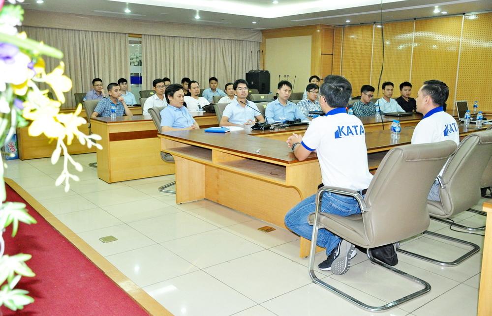 Visicons tổ chức khóa đào tạo Katapro cho các nhân sự quản lý và thực hiện công tác Shopdrawing