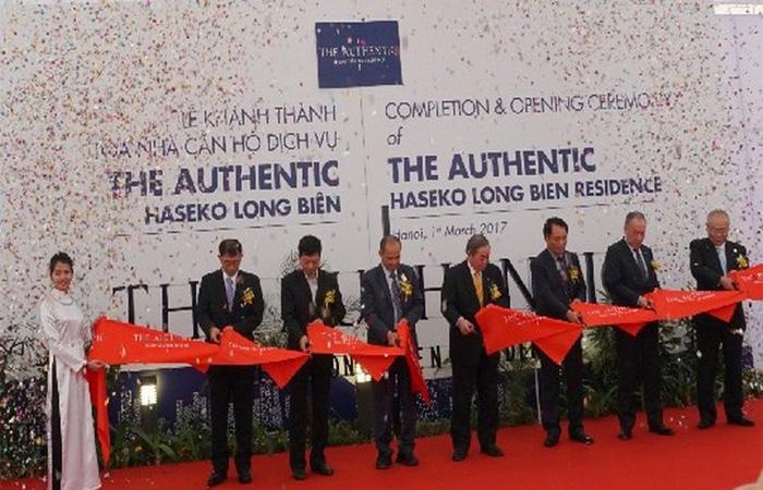 Nhà thầu VINACONEX6 tham dự Lễ khánh thành Tòa nhà căn hộ cho thuê Tư Đình, Long Biên – Hà Nội