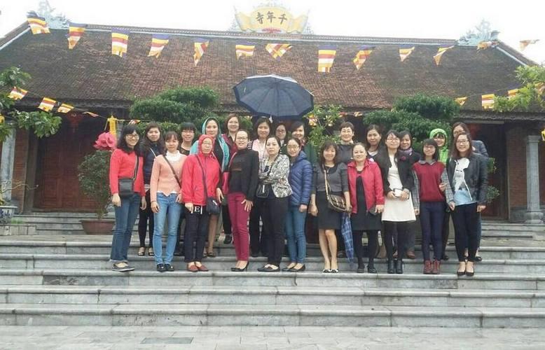 Vinaconex6 tổ chức chào mừng ngày quốc tế phụ nữ 08/03/2015