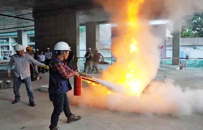 An toàn - Vệ sinh lao động tại công trường