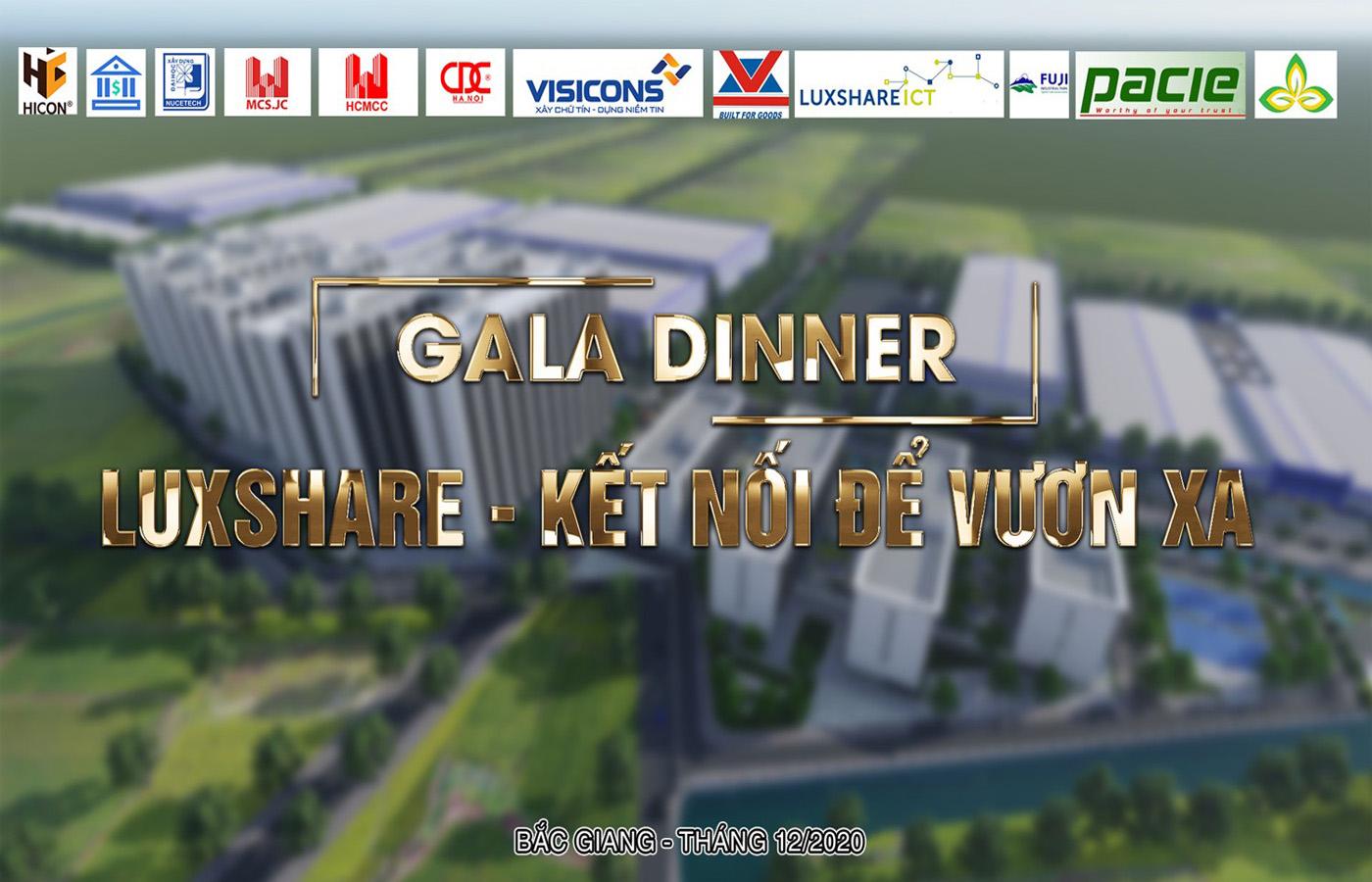"""Nhà máy Luxshare ICT tổ chức đêm tiệc """"Gala Dinner – Kết nối để vươn xa"""""""
