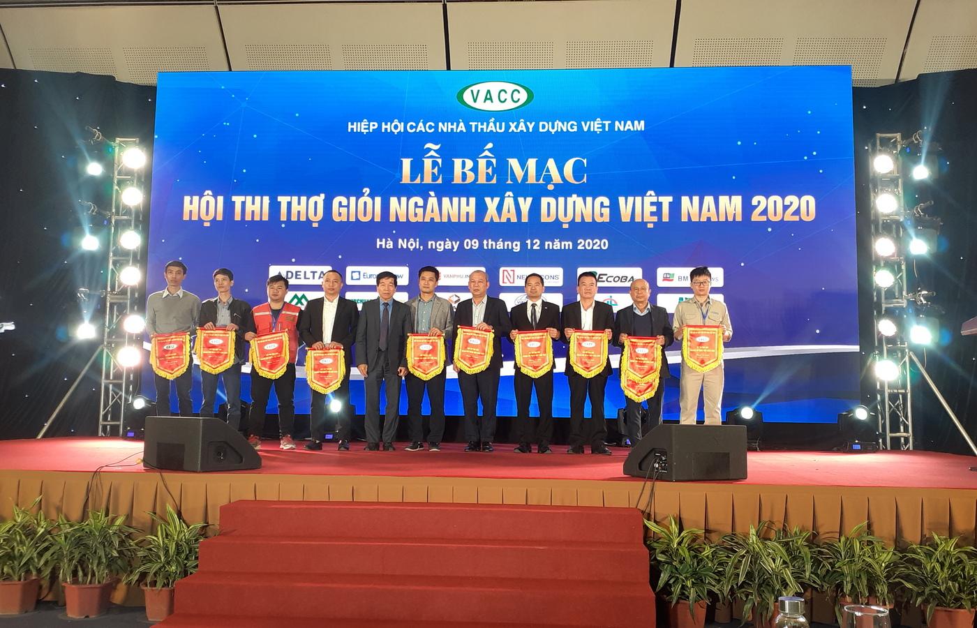 Visicons tham dự Hội thi thợ giỏi ngành xây dựng Việt Nam năm 2020 do Hiệp hội Các nhà thầu Xây dựng Việt Nam tổ chức.