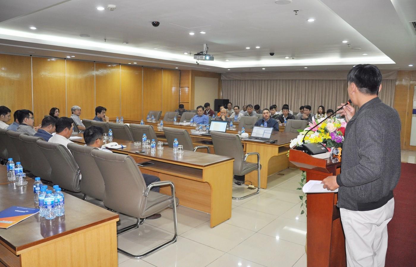 Visicons tổ chức buổi tập huấn công tác An toàn - Vệ sinh lao động