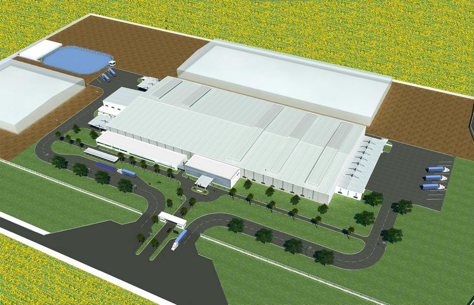 Khởi công xây dựng Nhà máy sản xuất nước tinh khiết TH true Milk tại Nghĩa Đàn – Nghệ An