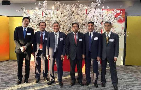 Lãnh đạo VINACONEX6 tham dự Hội nghị khách hàng của Tập đoàn Meada tại Tokyo – Nhật Bản.