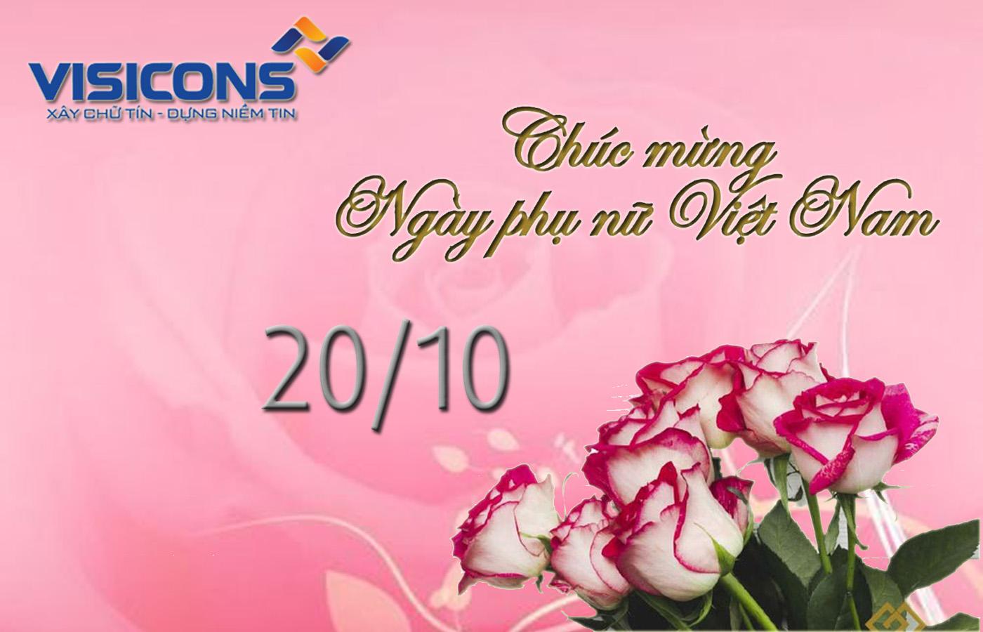 Hoạt động kỷ niệm ngày phụ nữ Việt Nam 20/10 của CBNV nữ Visicons