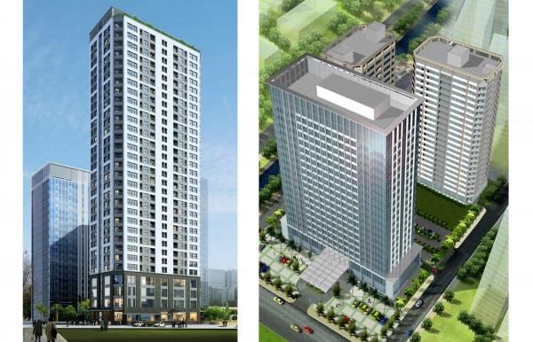 Nhà chung cư, căn hộ dịch vụ Vinata Towers - Hà Nội