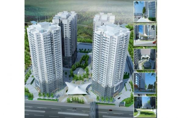 Tòa nhà 29T2 thuộc Dự án: Nhóm nhà N05 - Hoàng Đạo Thúy