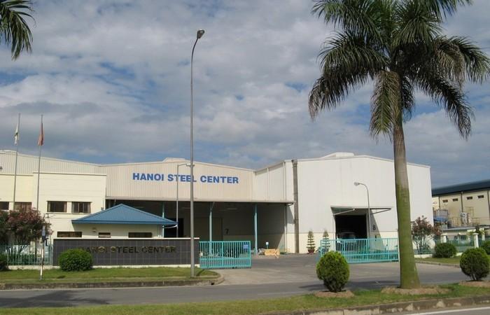 Nhà máy HaNoi Steel Center số 2 - KCN Thăng Long