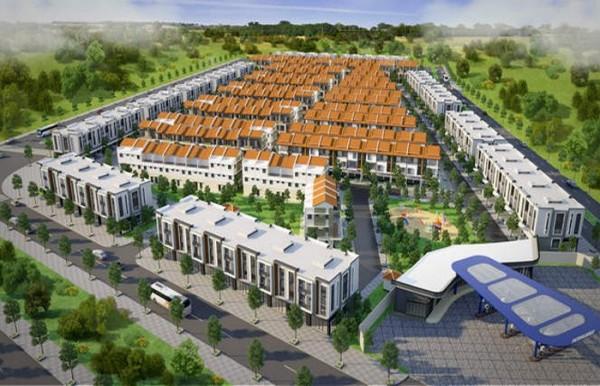Nhà ở thấp tầng Bellhomes : Khu công nghiệp đô thị và dịch vụ VSIP Bắc Ninh