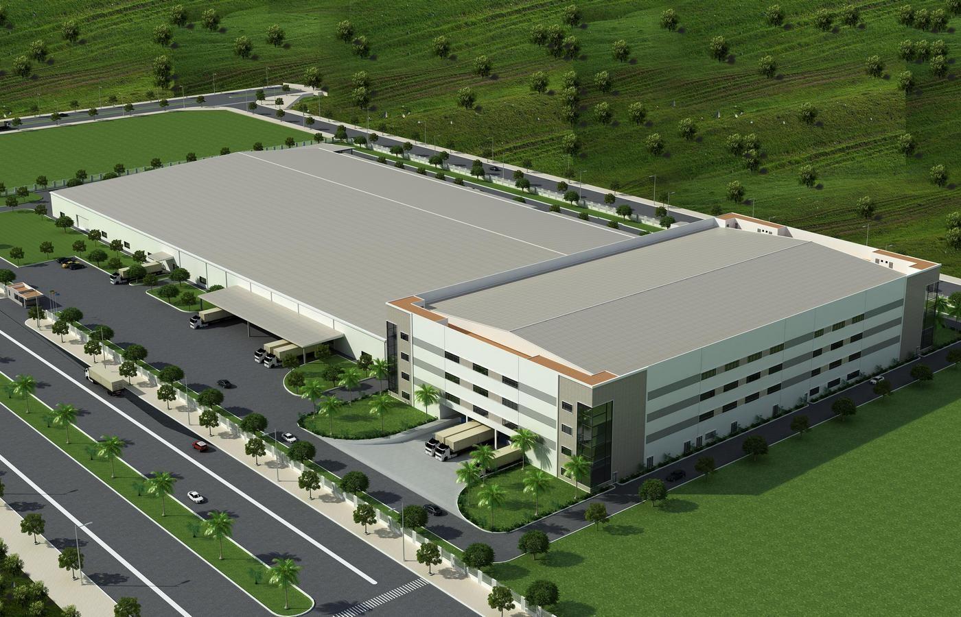Nhà xưởng Công ty TNHH Công nghệ Amtran Việt Nam - Giai đoạn 2