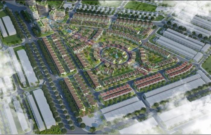 Khu biệt thự tại dự án The Manor Eco Lào Cai