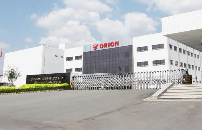 Nhà máy Orion - KCN yên Phong - Bắc Ninh