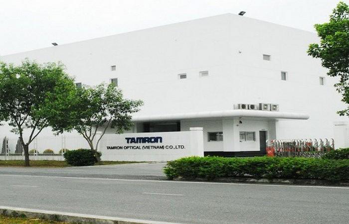 Nhà máy Tamron Optical Việt Nam - KCN Nội Bài