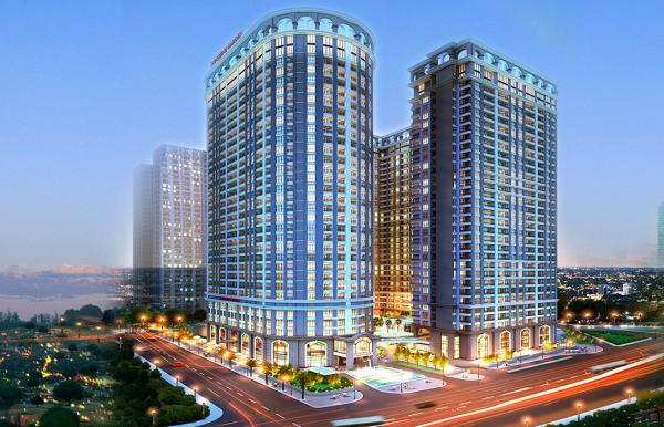 Tổ hợp thương mại dịch vụ, VP cho thuê và nhà ở chung cư ADG Garden - Hoàng Mai - Hà Nội