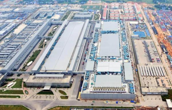 Nhà máy Samsung Electronic Thái Nguyên - KCN Yên Bình I