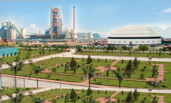 Nhà máy xi măng Cẩm Phả- Vinaconex