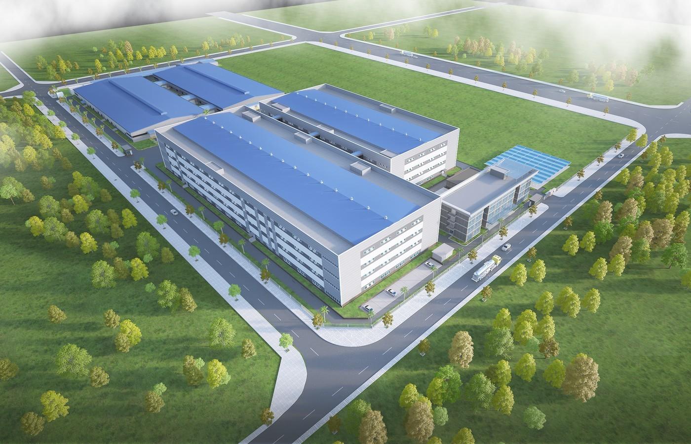 Nhà xưởng Công ty TNHH PhiHong Việt Nam - GĐ II